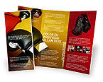 Sports: Boxing Training Brochure Template #01965