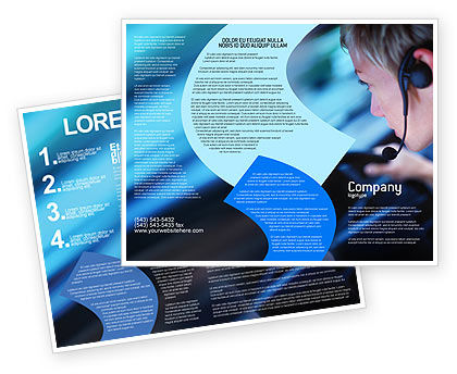 Consulting: Driving Safety Brochure Template #01967