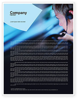 Driving Safety Letterhead Template