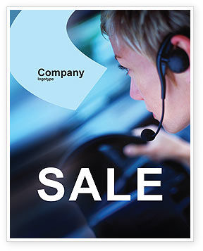 Consulting: Driving Safety Sale Poster Template #01967