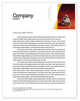 Urban Development Letterhead Template, 01970, Utilities/Industrial — PoweredTemplate.com