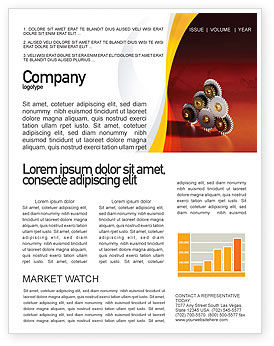 Utilities/Industrial: Urban Development Newsletter Template #01970