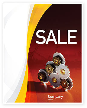 Urban Development Sale Poster Template, 01970, Utilities/Industrial — PoweredTemplate.com