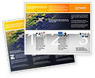 Business Concepts: Modello Brochure - Puzzle del mondo #01971