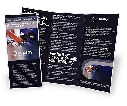 Fuel Brochure Template, 01978, Business — PoweredTemplate.com
