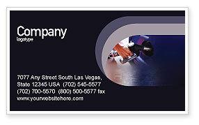 Business: Plantilla de tarjeta de visita gratis - combustible #01978