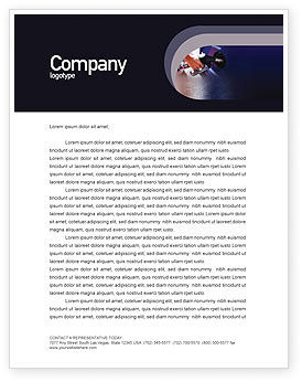 Business: Fuel Letterhead Template #01978