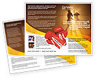 Sports: Boxing Ring Brochure Template #01981