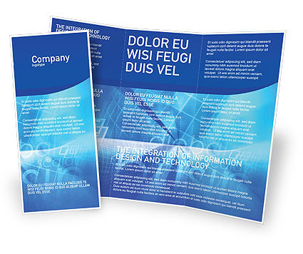 E business brochure template design and layout download for Electronic brochure templates