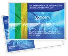 Business Concepts: E-business Postcard Template #01983