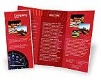 Cars/Transportation: Plantilla de folleto - velocímetro #01985