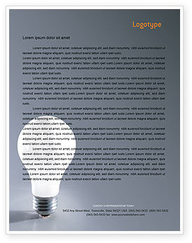 Business Concepts: Idea Letterhead Template #01989