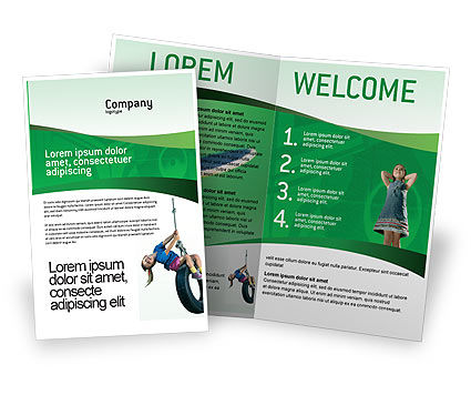 Sports: Skateboard Brochure Template #01993