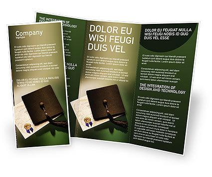 Education & Training: Diploma Brochure Template #01997