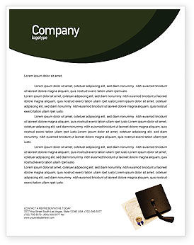 Education & Training: Diploma Letterhead Template #01997