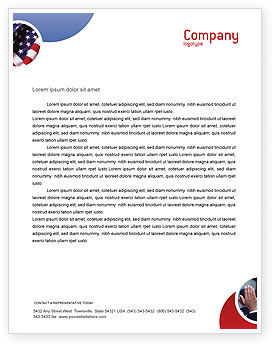 Legal: Voting Letterhead Template #02001