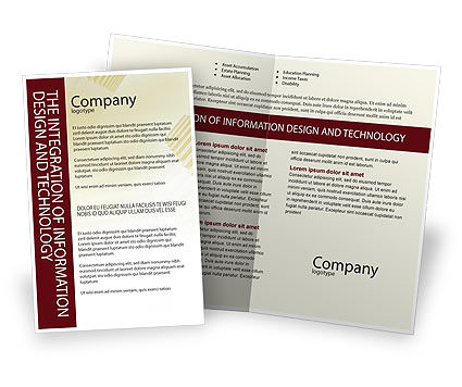 Business Consulting Session Brochure Template, 02003, Consulting — PoweredTemplate.com