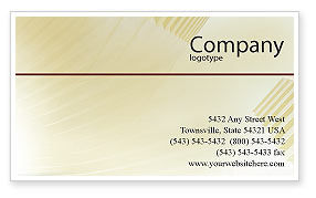 Business Consulting Session Business Card Template, 02003, Consulting — PoweredTemplate.com