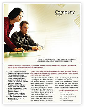 Business Consulting Session Flyer Template, 02003, Consulting — PoweredTemplate.com