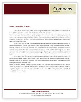 Consulting: Business Consulting Session Letterhead Template #02003