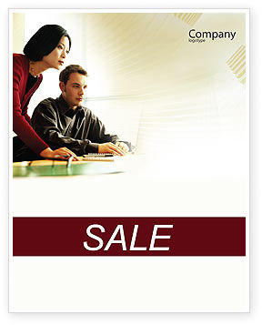 Consulting: Business Consulting Session Sale Poster Template #02003