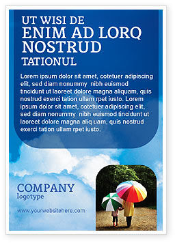 Nature & Environment: Cloudy Sky Ad Template #02006