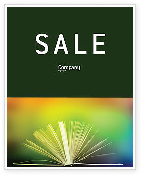 Education & Training: Book Sale Poster Template #02010