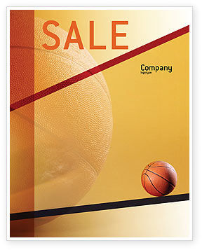 Sports: Before Basketball Game Sale Poster Template #02016