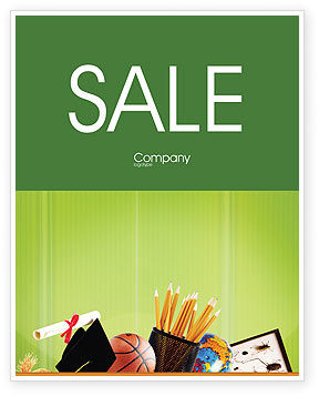 Learning to Write Sale Poster Template