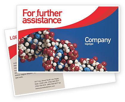 Molecular Modeling Postcard Template