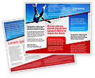 Sports: High Jump Brochure Template #02020