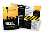 Construction: Building Industry Brochure Template #02021