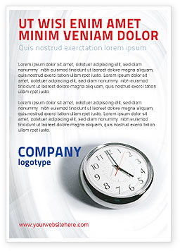 Consulting: Five O'clock Ad Template #02024