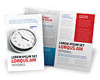 Consulting: Five O'clock Brochure Template #02024