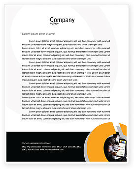 Medical: Case History Letterhead Template #02028
