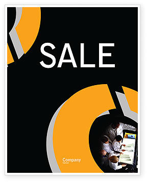 Case History Sale Poster Template, 02028, Medical — PoweredTemplate.com