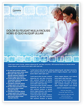 Education & Training: Projektmanagement Flyer Vorlage #02034