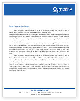 Project Management Letterhead Template, 02034, Education & Training — PoweredTemplate.com