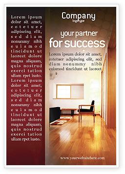 Careers/Industry: Plantilla de publicidad - diseño de apartamentos #02035