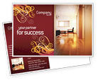 Careers/Industry: Apartment Design Postcard Template #02035