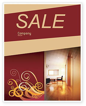 Apartment Design Sale Poster Template, 02035, Careers/Industry — PoweredTemplate.com