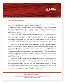 Fencing Letterhead Template, 02038, Sports — PoweredTemplate.com