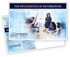Education & Training: Presentations Postcard Template #02041