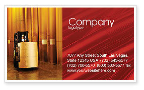 Paper-Mill Business Card Template, 02047, Utilities/Industrial — PoweredTemplate.com