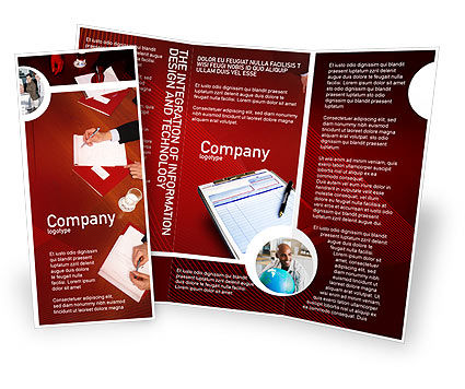 Business: Briefing Brochure Template #02048