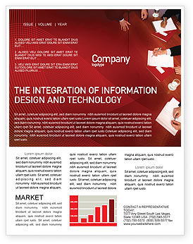 Business: Briefing Newsletter Template #02048