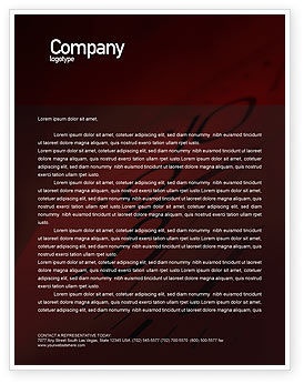 Stop-Watch Letterhead Template, 02051, Consulting — PoweredTemplate.com