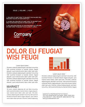 Consulting: Stop-Watch Newsletter Template #02051