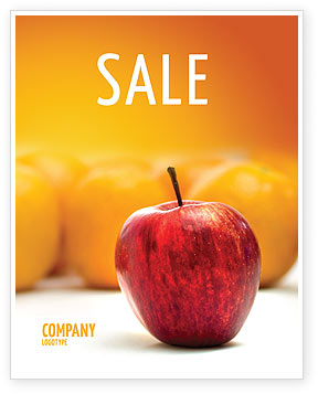 Business Concepts: Standing Out Sale Poster Template #02054