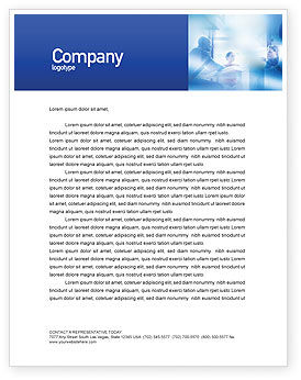 People: Teamwork Meeting Letterhead Template #02055